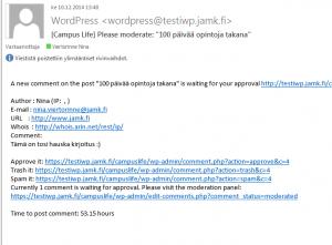 blogipalvelu kommentit sposti