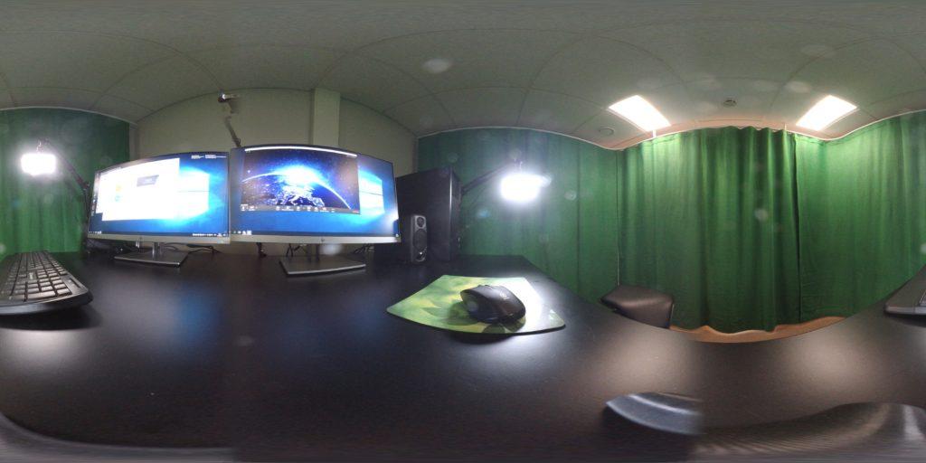 Vihreä webinar-huone