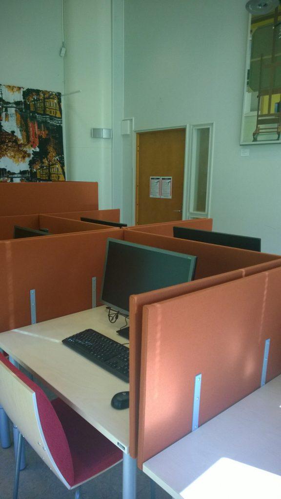 Examstudio-näkymä