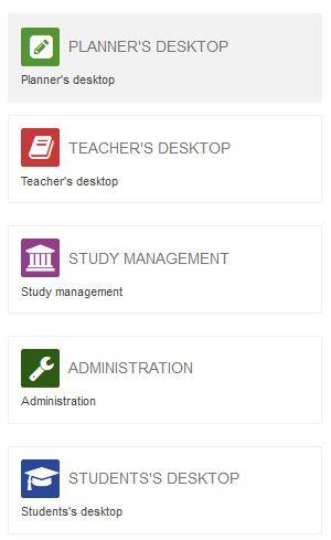 List of Peppi´s desktops